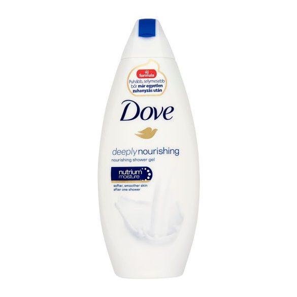Dove Deeply Nourishing bőrtápláló krémtusfürdő 250 ml