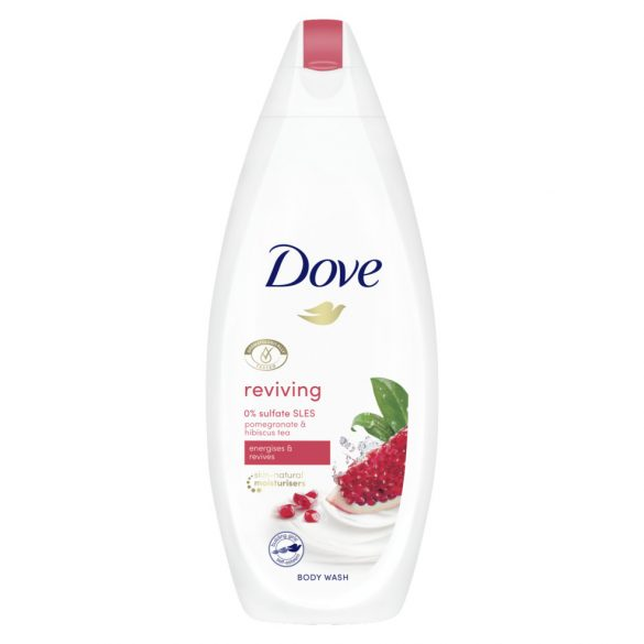 Dove Go Fresh krém tusfürdő gránátalma és citromos verbéna illattal 250 ml