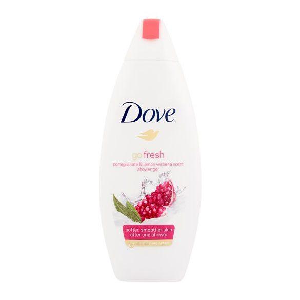 Dove Go Fresh krémtusfürdő gránátalma és citromos verbéna illattal 500 ml