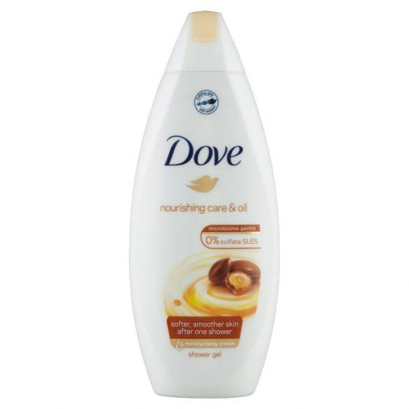 Dove Nourishing Care & Oil krémtusfürdő marokkói argán olajjal 500 ml