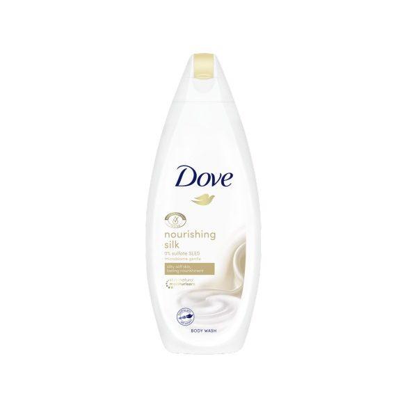 Dove Silk Glow bőrtápláló krémtusfürdő 250 ml