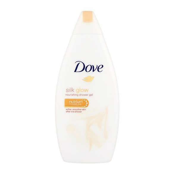 Dove Silk Glow bőrtápláló krémtusfürdő 500 ml