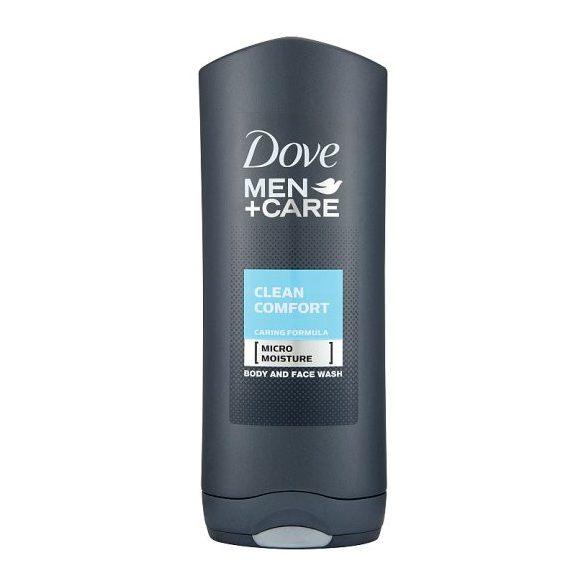 Dove Men+Care Clean Comfort férfi tusfürdő testre és arcra 250 ml