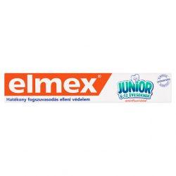 elmex Junior fluoridos fogkrém 6-12 éveseknek 75 ml