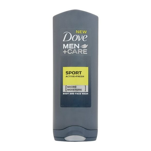 Dove Men+Care Sport Active+Fresh tusfürdő testre és arcra 250 ml