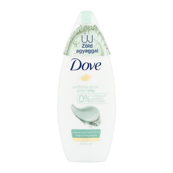 Dove Purifying Detox tusfürdő 500ml