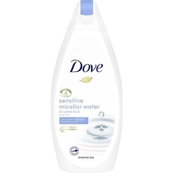 DOVE Sensitive Micellás tusfürdő 500ml