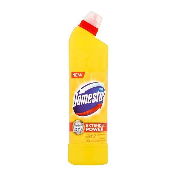 DOMESTOS Extended Power fertőtlenítő hatású folyékony tisztítószer Citrus Fresh 750 ml