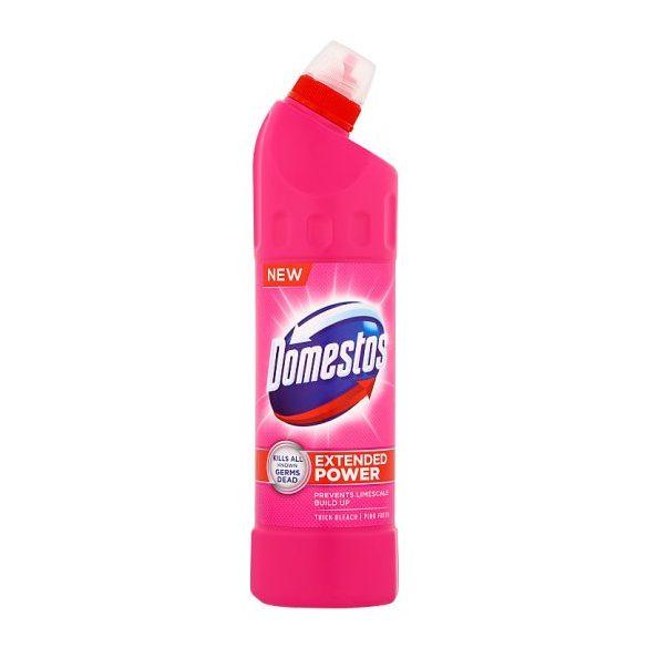 DOMESTOS Extended Power fertőtlenítő hatású folyékony tisztítószer Pink Fresh 750 ml