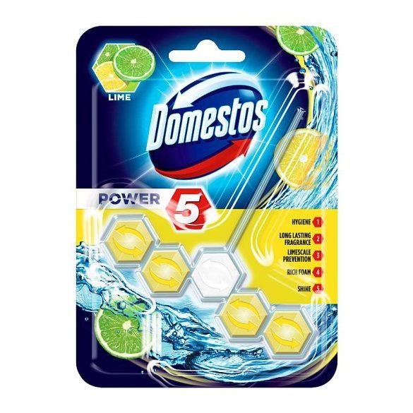 DOMESTOS Power5 WC frissítő blokk Lime 1db-os