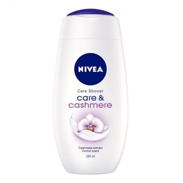 Nivea Care & Cashmere krémtusfürdő 250ml