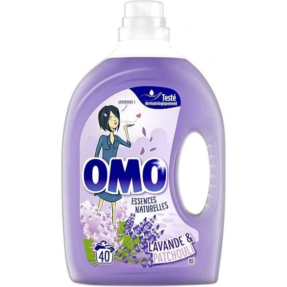 OMO Lavende & Patshouli folyékony mosószer 2l, 40 mosás