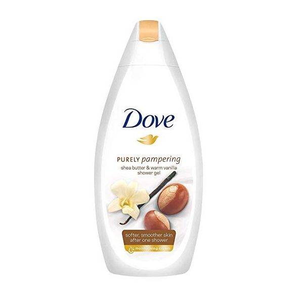 Dove Sea Butter & Warm Vanilla tusfürdő 250ml