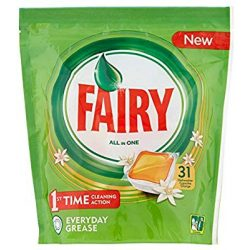 Fairy/Jar All in One Orange  Mosogatókapszula 31db-os