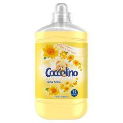 Coccolino Happy Yellow öblítő koncentrátum 72 mosás 1,8l  1800 ml