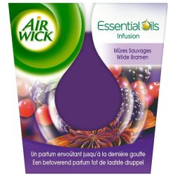Air Wick Essential Oils Wild Blackberries illatgyertya  105gr.