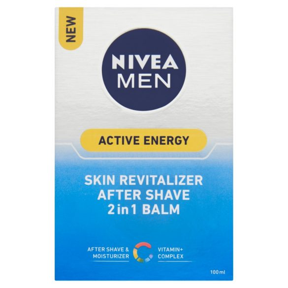 NIVEA Men Active Energy After Shave Balm 100 ml
