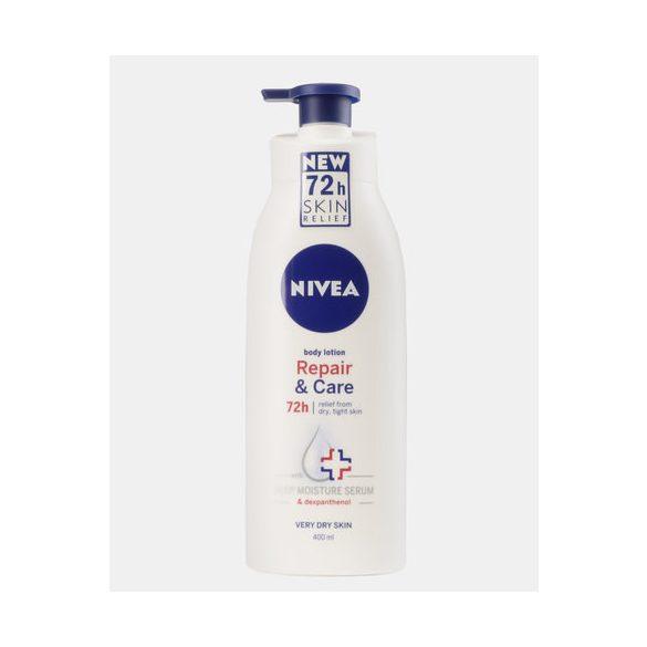 NIVEA Repair & Care regeneráló testápoló pumpás  nagyon száraz bőrre 400 ml