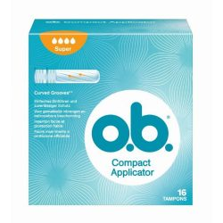 o.b. tampon  Super Compact Applicator 16 db