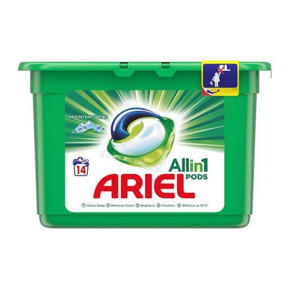 Ariel Allin1 PODS Mountain Spring Mosókapszula, 14 Mosáshoz
