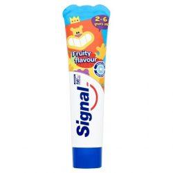 Signal Kids Fruity Flavour fogkrém gyerekeknek 2-6 éves korig 50 ml