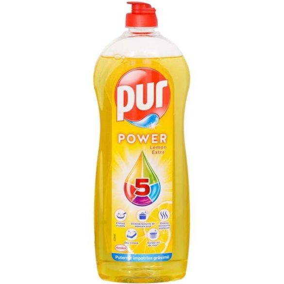 PUR Power Extra 5+ Lemon mosogatószer 450ml