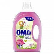 OMO Essences Naturelles rose & lilas blanc mosógél 2 liter 40 mosás
