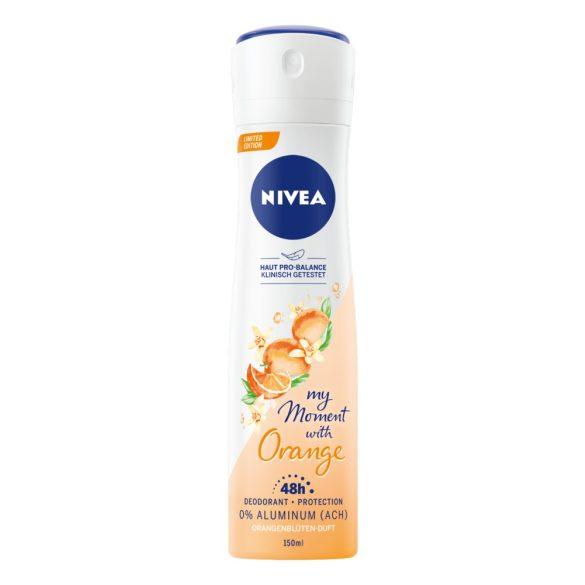 NIVEA My Moment Orange 0% Aluminium dezodor 150ml