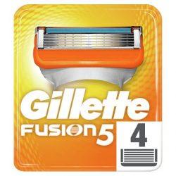 Gillette Fusion 5 Pótfej Férfi Borotvához, 4 db