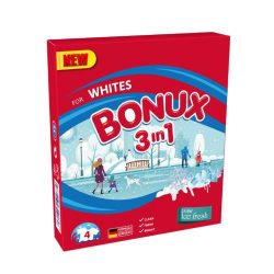 BONUX Ice Fresh  3in1 gépi mosópor 400g