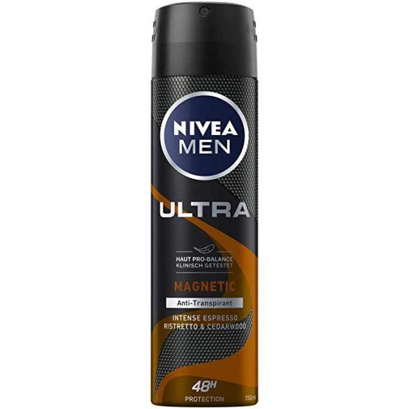 NIVEA MEN Ultra Magnetic Intense Espresso dezodor 150ml