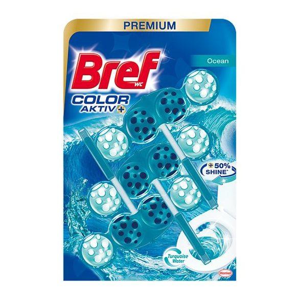 Bref Color Aktiv Ocean WC-frissítő, tisztító 3 x 50 g