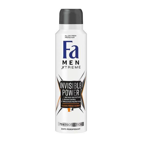 Fa Men Xtreme Invisible Power izzadásgátló deospray 150 ml