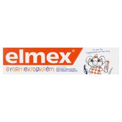elmex gyermekfogkrém 6 éves korig 50 ml