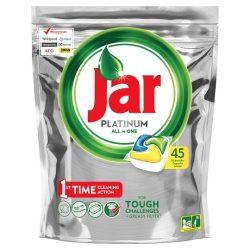 Jar Platinum  all in one Lemon Mosogatógép Kapszula 45 darabos kiszerelés