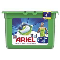 Ariel Active Deo fresh 3in1 mosókapszula, pods 13db-os