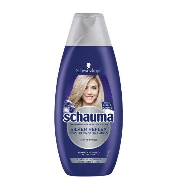 Schauma Silver Reflex Cool Blonde Sampon 400ml