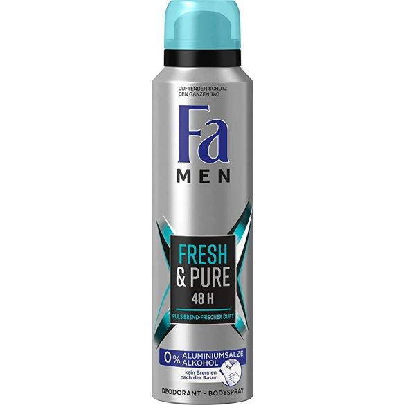 Fa Men Fresh & Pure dezodor 150ml