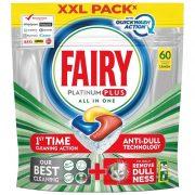 FAIRY/Jar Platinum Plus All in One Mosogatógép-Kapszula, Lemon, 60 db