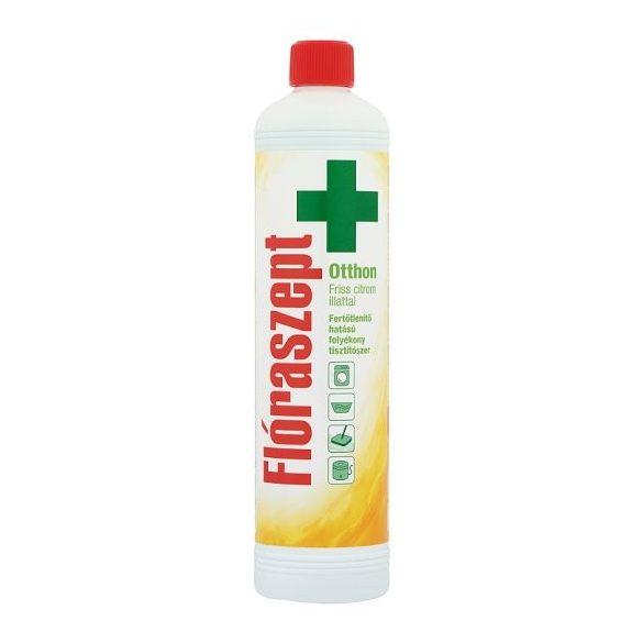 Flóraszept Otthon fertőtlenítő hatású folyékony tisztítószer friss citrom illattal 1000 ml