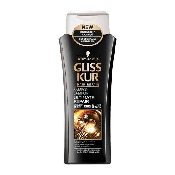 Gliss Kur hajregeneráló sampon Ultimate repair 250 ml
