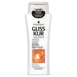 Gliss Kur hajregeneráló sampon Teljeskörű regeneráló 400 ml
