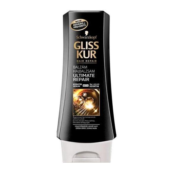Gliss Kur hajregeneráló balzsam Ultimate repair 200 ml