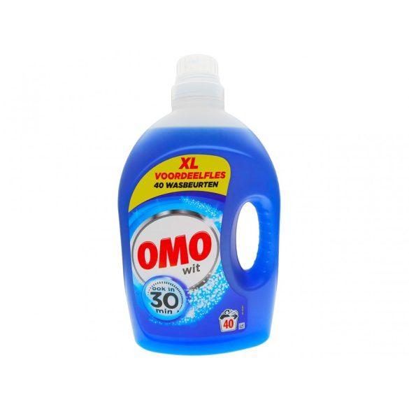 OMO folyékony mosószer 2l, 40 mosás fehér ruhákhoz