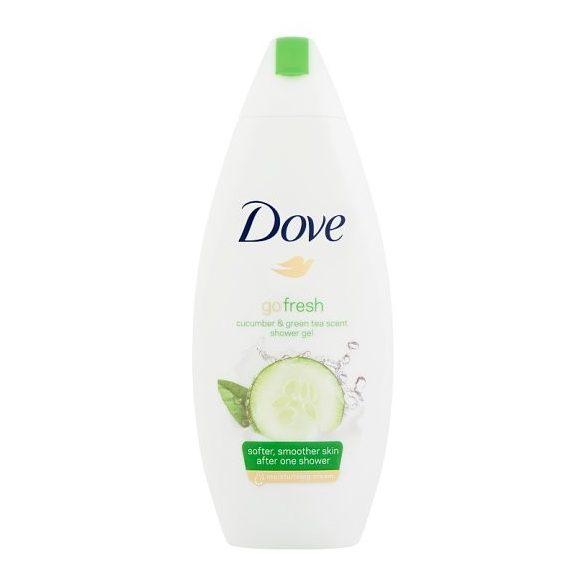 Dove Go Fresh krémtusfürdő uborka és zöld tea illattal 500ml