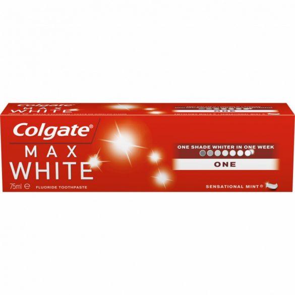 COLGATE MAX WHITE ONE FEHÉRÍTŐ FOGKRÉM 75ML