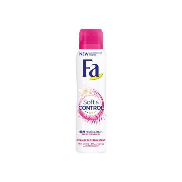 Fa Soft & Controll Orange Blossom dezodor 150ml