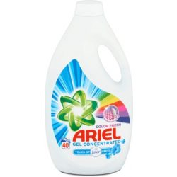 Ariel Touch Of Lenor Color Folyékony Mosószer 2,2 l, 40 mosás