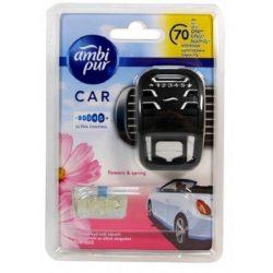 Ambi Pur Car Flowers autóillatosító szett 7ml