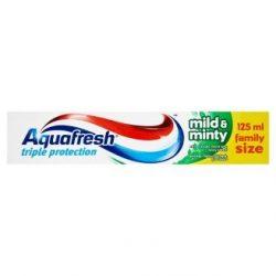 Aquafresh Triple Protection Mild & Minty fogkrém  125ml
